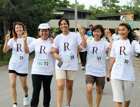 Phuket Resort and Spa ambassadors at the finish line