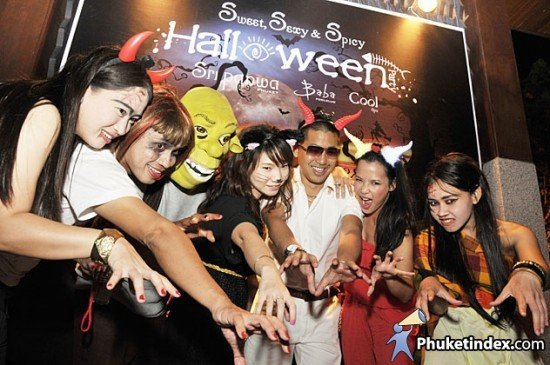 Sweet, Sexy & Spicy Halloween @ Sri panwa Phuket