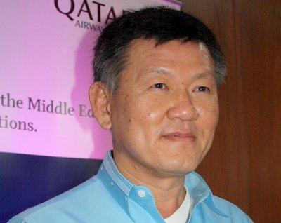 Somboon Jirayus - the President of Phuket Tourism Association