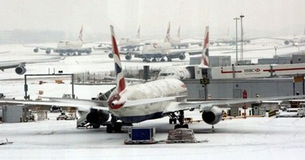 Severe Weather UK Flight Disruptions