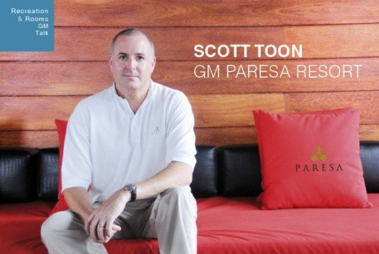 Scott Toon GM Paresa Resort