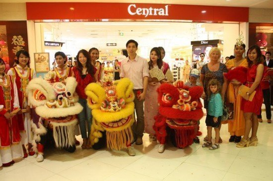 Central Festival Phuket celebrate Chinese New Year 2012
