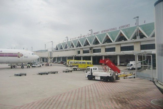 AIRPORT ON SOUTHERN THAI ISLAND OF PHUKET CLOSED