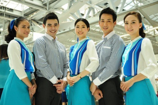 Bangkok Airways debuts new uniform at Suvarnabhumi Airport