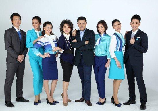 Bangkok Airways' uniform 1 of 7 most outstanding flight attendant uniforms