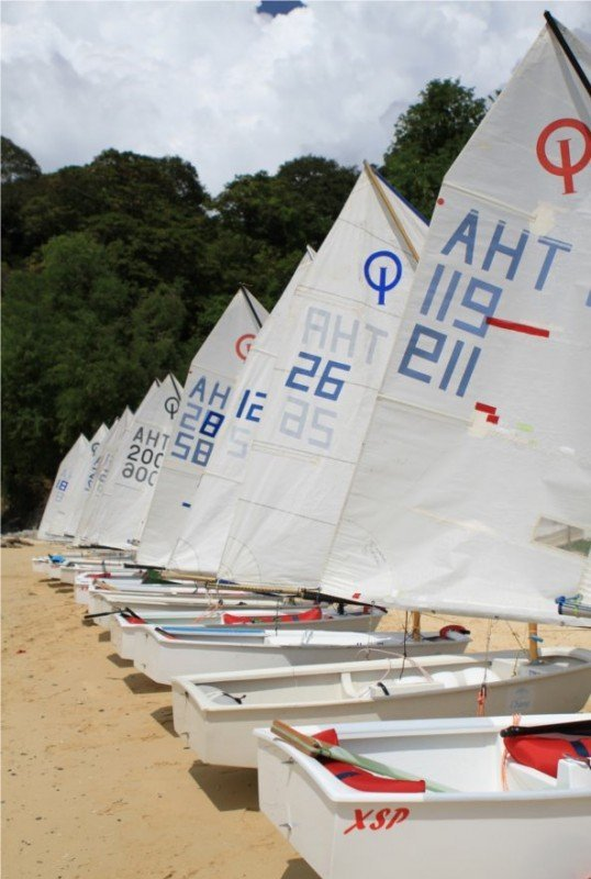 Crowne Plaza Phuket support Phuket Dinghy Series 2012