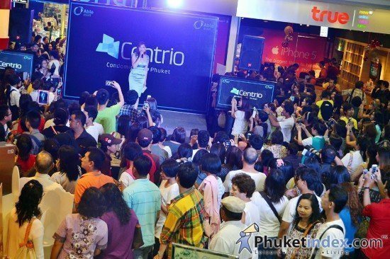 Grand Openning of Centrio Condominum @ Central Festival Phuket