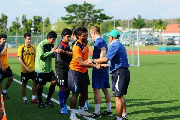 Phuket FC now training at Thanyapura Sports & Leisure Club