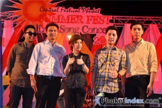 Central Festival Phuket Summer Fest Love Song Concert 2013