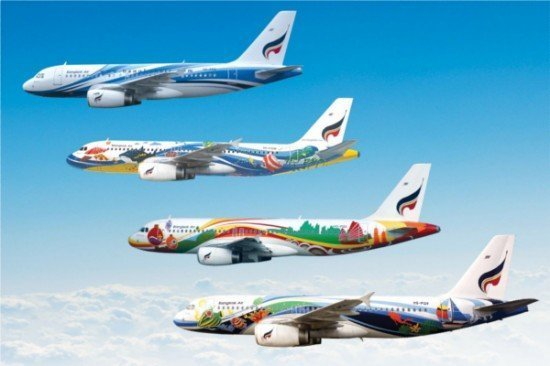 Bangkok Airways top 20 colorful airlines in the world
