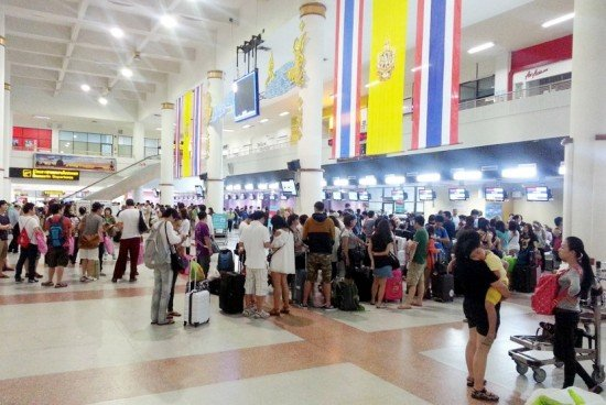 Phuket Airport passengers expected to reach 10.5 million in 2013