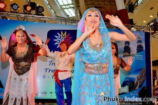 Visit Malaysia 2014 Fair in Phuket