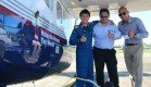 Phuket welcomed record breaking pilot