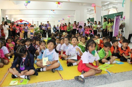 Phuket holds kid's Joy Reading Caravan event