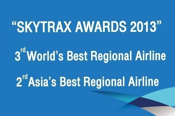 Bangkok Airways wins two awards from SkyTrax