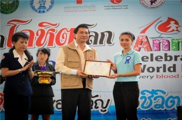 Phuket's Kee Resort Awarded for Blood Donation Support