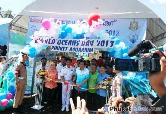 Phuket held World Ocean Day 2013