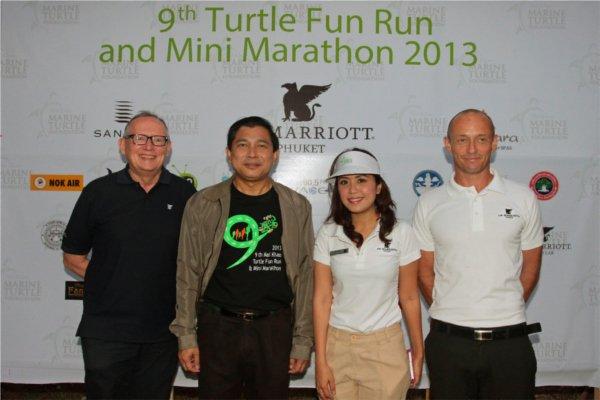 Phuket's 9th Turtle Fun Run and Mini Marathon 2013