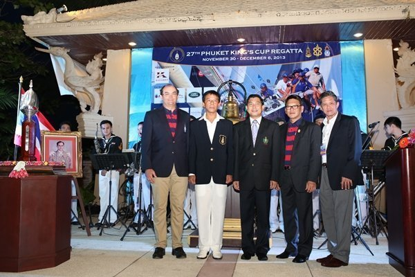 Opening Ceremony of 27th Phuket King's Cup Regatta