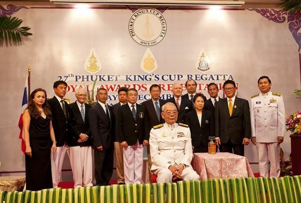 27th Phuket King's Cup Royal Awards Presentation