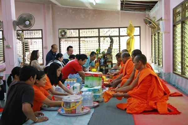Amari Phuket in merit making activity