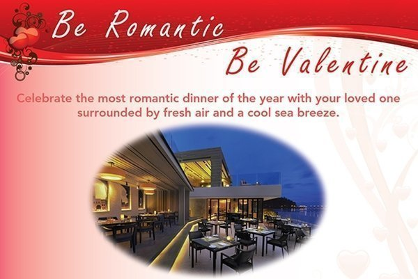 Romantic Valentine's Day dinner at Amari Phuket