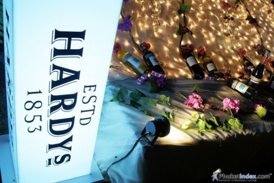 Thavorn Palm Beach Resort Phuket hosts Hardy's Cocktail Wine Party