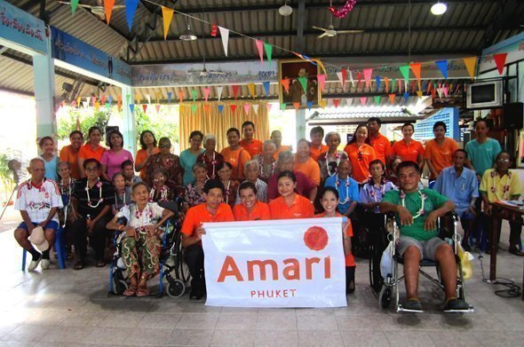 Amari Phuket Teams Up For Visiting Elderly Care Home