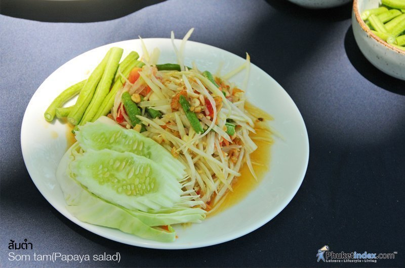 Photo of the day : Som tam(Papaya salad)