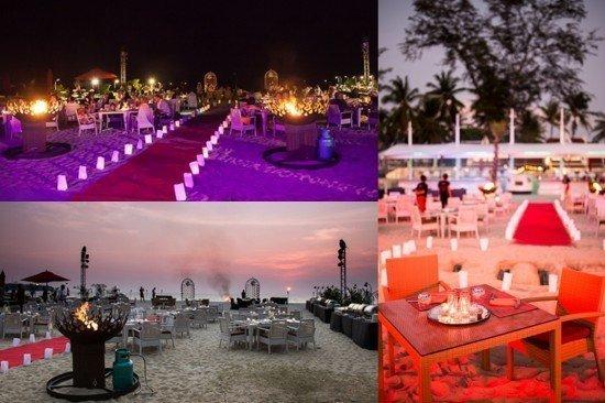Earth Hour at Phuket's XANA Beach Club