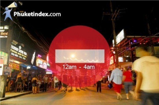 Phuket Curfew Update