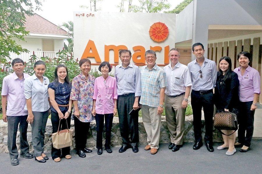 Thai Hotel Association visits Amari Phuket