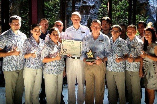 Centara Grand Phuket receives 2 Green Leaf Awards