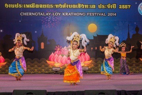 Thousands Celebrated Loy Krathong Festival at Laguna Phuket