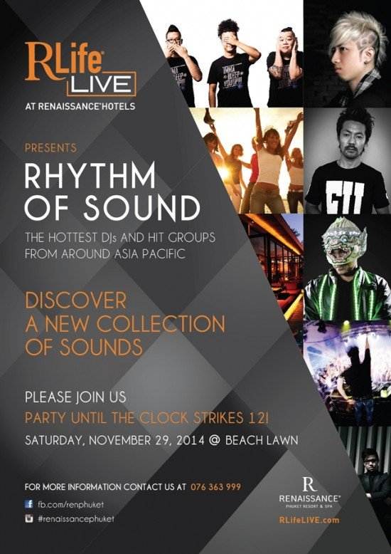 Renaissance Phuket presents Rhythm of Sound