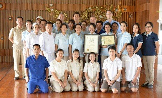 Regent Phuket receives the Global Winner - World Luxury Hotel Awards 2014