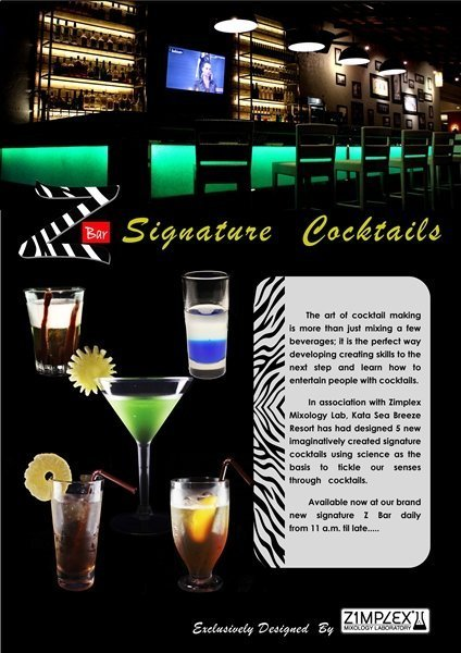 Z Bar Signature Cocktails