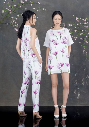 Chinese-inspired modern outfits for fashion forward women
