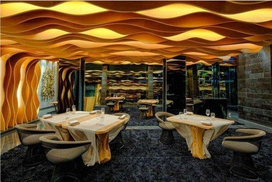 Aziamendi Restaurant Interior