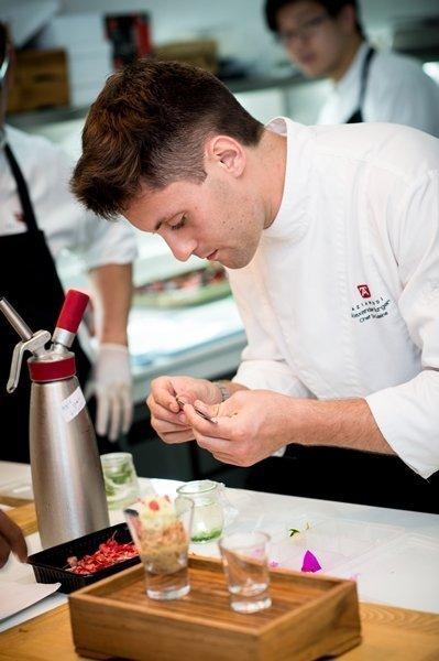 Chef de Cuisine Alex Burger