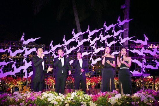 Christmas Glee at Dusit Thani Laguna Phuket