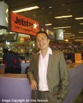 Mr. Leslie Ng Regional General Manager for Sales, Jetstar Group