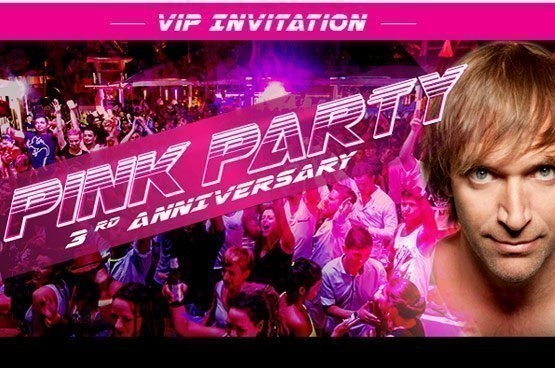Pink Party, 3rd Anniversary of XANA Beach Club, Phuket
