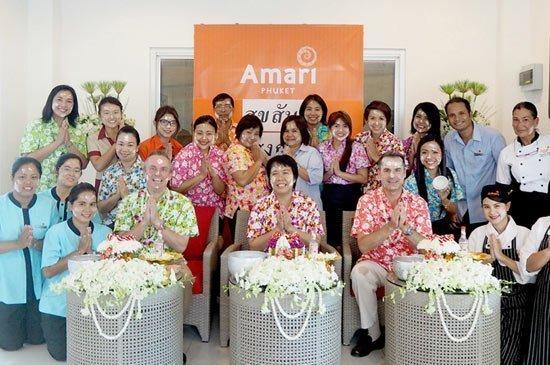Amari Phuket : Greetings of the Songkran Festival Celebration