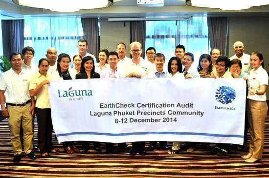 Laguna Phuket celebrates EarthCheck Silver Certification
