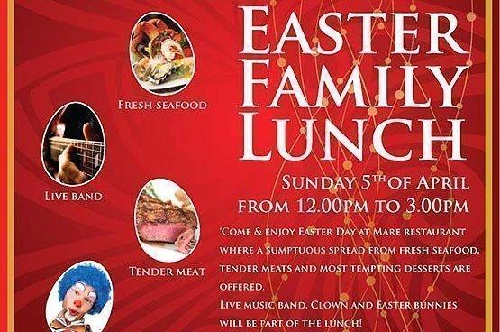 Easter Family Lunch at Centara Grand Beach Resort Phuket