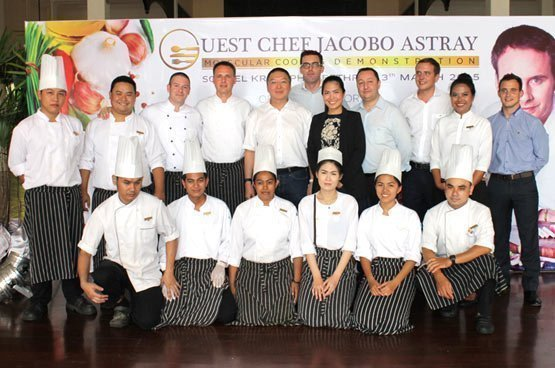Dinner with guest chef Jacobo Astray at Sofitel Krabi