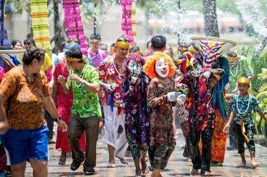 Songkran Festival at Angsana Laguna Phuket and Xana Beach Club with Attica