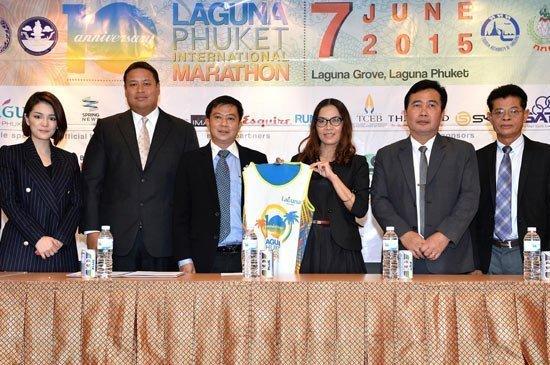 Bangkok Media Showcase for 2015 Laguna Phuket International Marathon