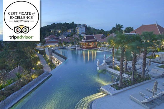 Regent Phuket Cape Panwa Awarded 2015 Triadvisor Certificate of excellence